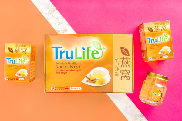 TruLife Premium Bird's Nest with American Ginseng and Rock Sugar