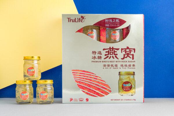 TruLife Premium Bird's Nest with Rock Sugar Gift Pack