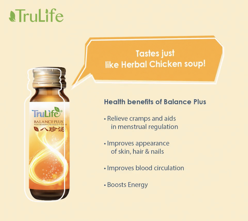 TruLife Balance Plus Benefits