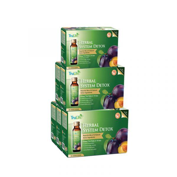 TruLife Herbal System Detox Bundle Of 6