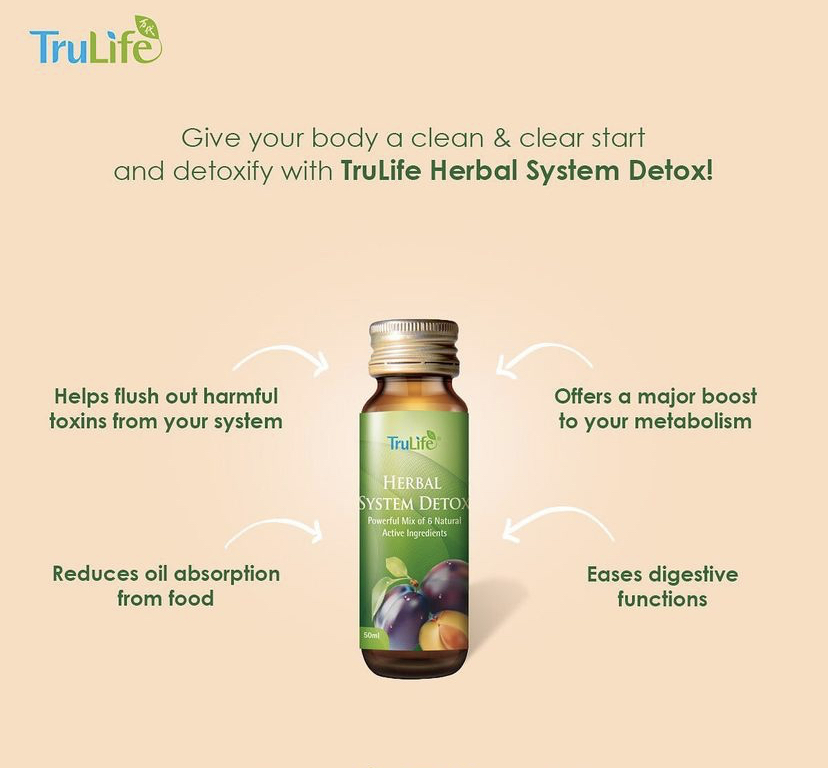 TruLife Herbal System Detox Benefits