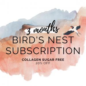 bird's nest sugar free with collagen