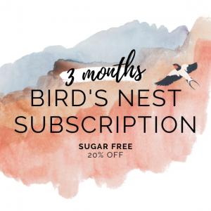 Bird's Nest Sugar Free 3 month subscription