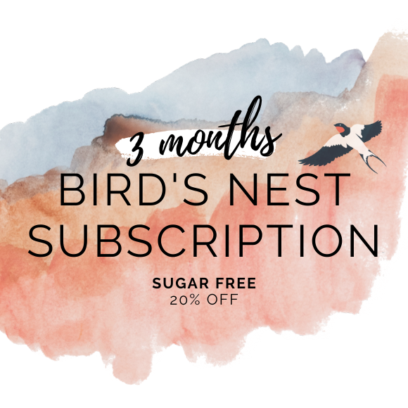 Bird's Nest Sugar Free 3 month subscription