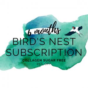 bird's nest sugar free with collagen 6 month subscription