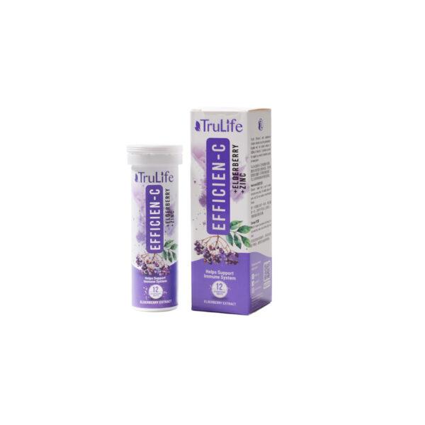 Efficien-C With Elderberry & Zinc 12's