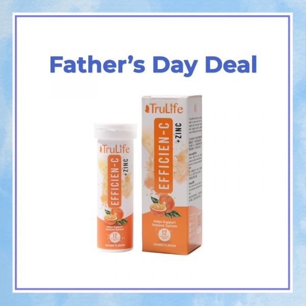 Efficien C with Zinc - Father's Day Deal
