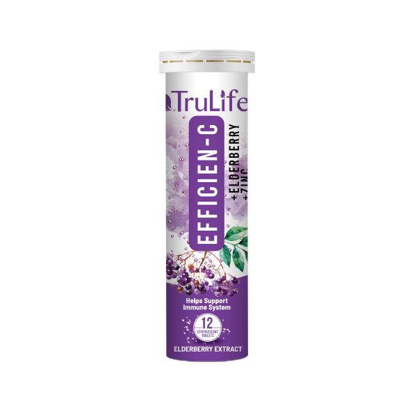 Efficien-C with Elderberry bottle