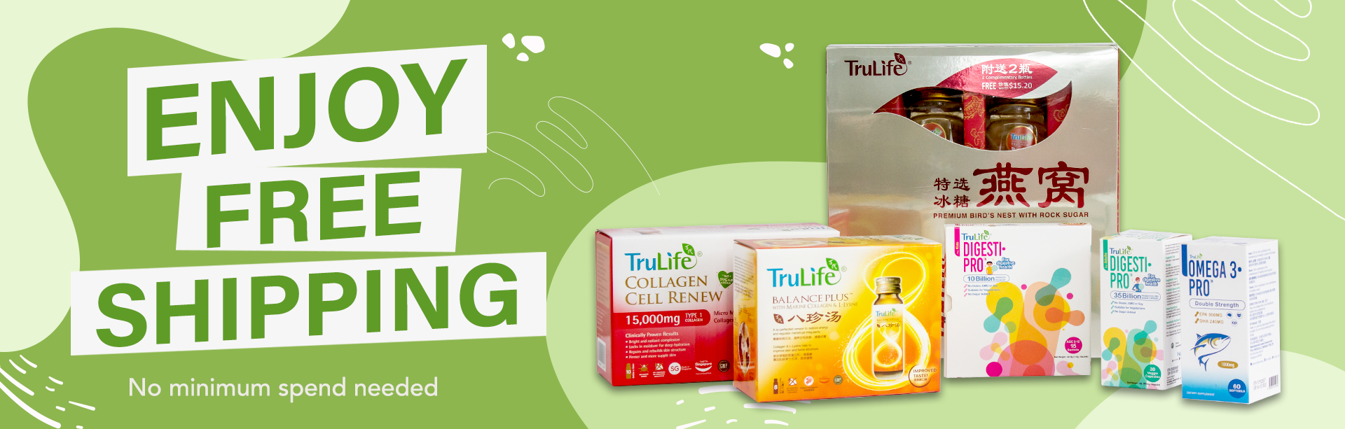 TruLife free shipping