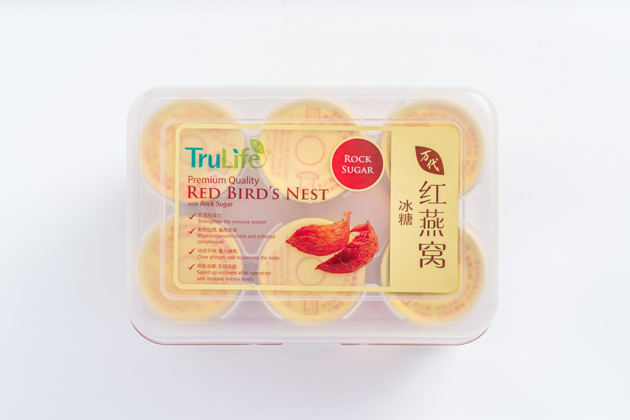 TruLife Premium Quality Red Bird's Nest with Rock Sugar - International