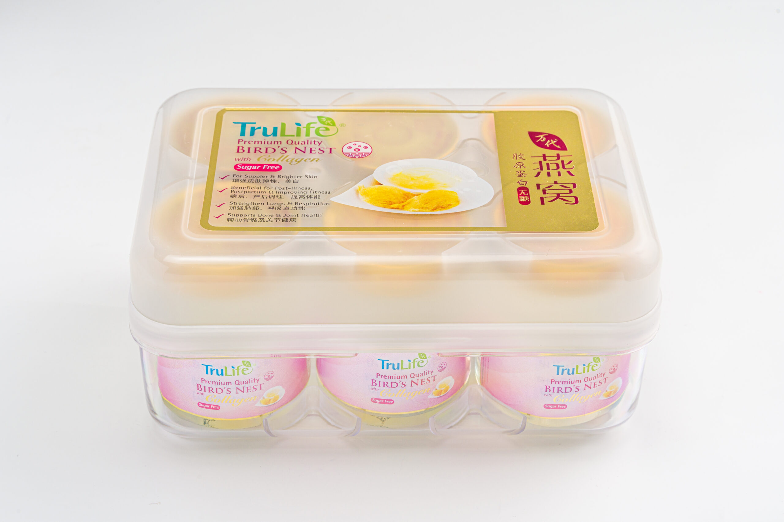 TruLife Premium Bird's Nest with Collagen (Sugar Free) - International