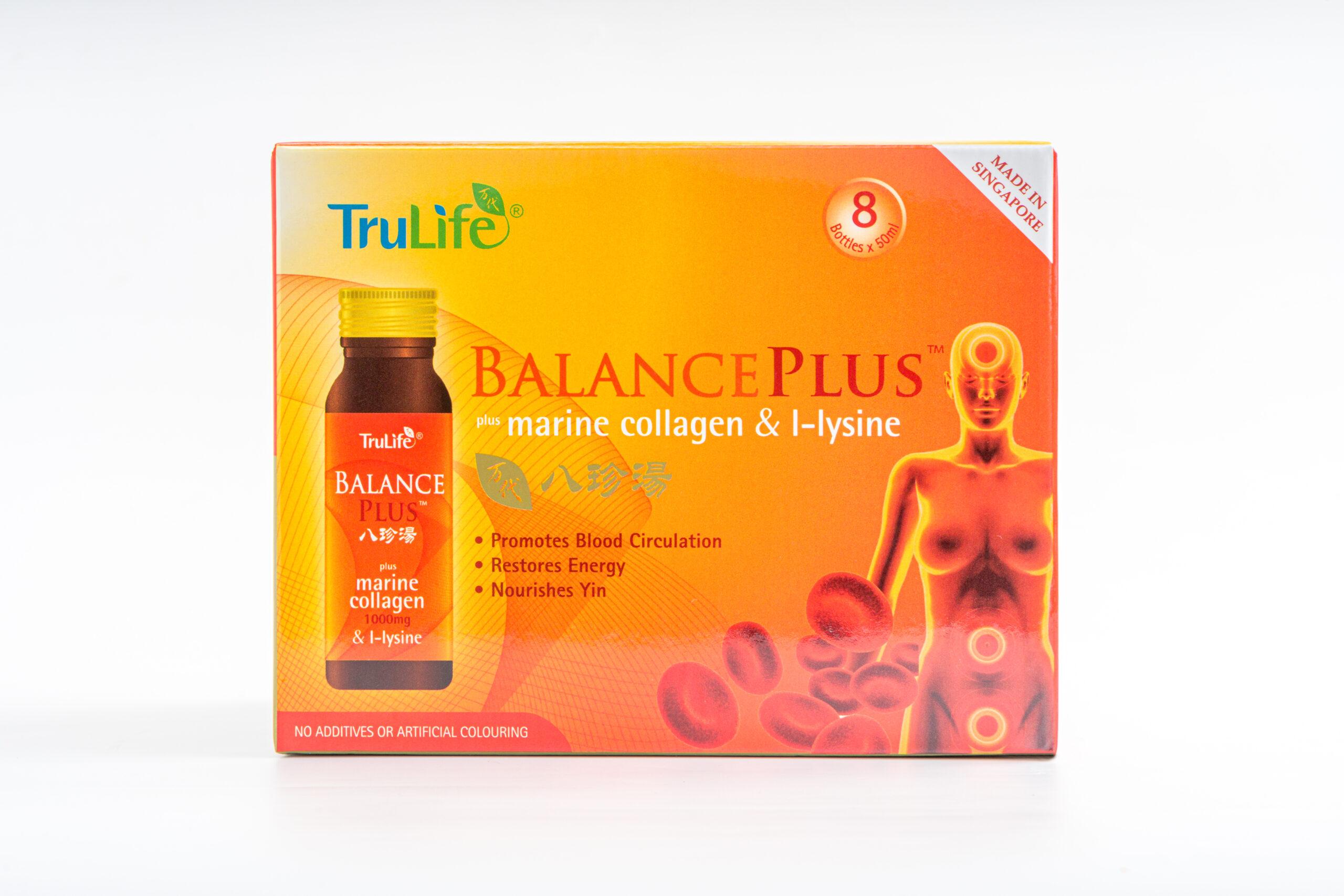 Balance Plus with Marine Collagen & L-lysine